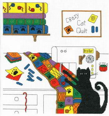 Image of Crazy Quilt Cat