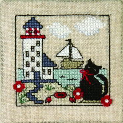 Image of Itty Bitty Kitty - At The Lighthouse